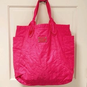 Marc Jacobs hot pink tote bag